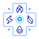 Comprehensive energy consumption analysis system Icon