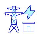 Management system of power transformation and distribution Icon