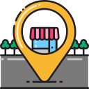 shopping destination Icon