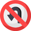 031-no-turn-1 Icon