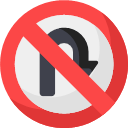 032-no-turn Icon