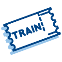 Train tickets Icon