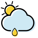 Weather icon shower Icon
