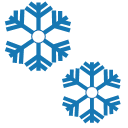 Weather - moderate snow Icon
