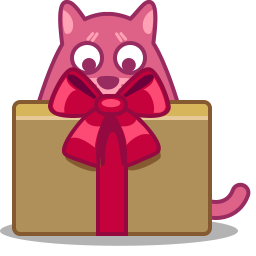 Cat Gift Vector Icons Free Download In Svg Png Format