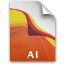 AI File Icon Icon