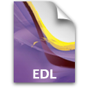 pr document secondary edl Icon