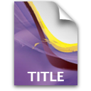pr document secondary title Icon