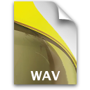 sb document secondary audio wav Icon