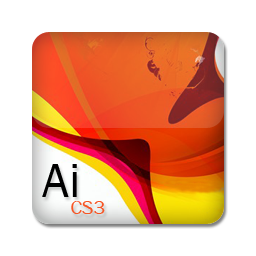 Adobe Illustrator CS3 icon free download as PNG and ICO formats