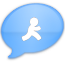 iChat Blue AIM Icon