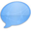 iChat Blue Network Icon
