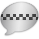 iChat Dark Taxi Icon