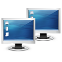 multiple monitors Icon