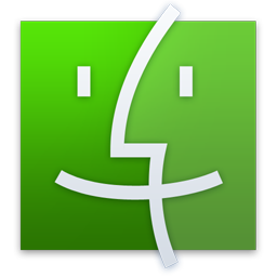 Finder Green Icon