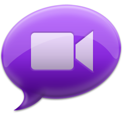 iChat Purple Icon