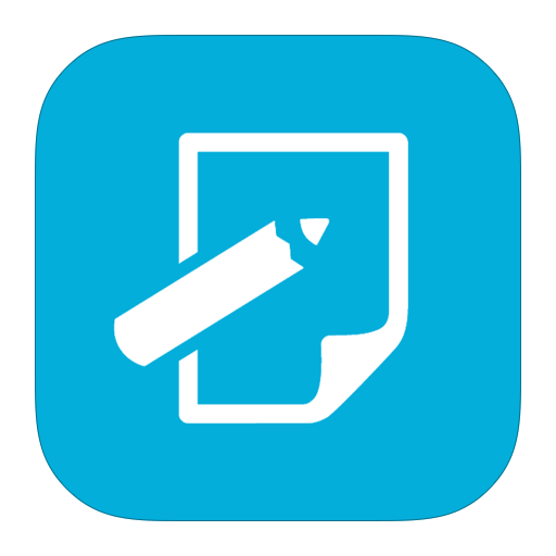 MetroUI Apps Notepad Icon