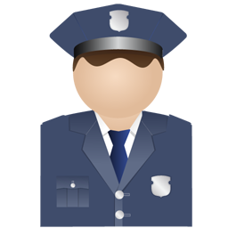 Policeman uniform Icon