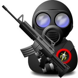 Gas Soldier with Weapon Icon