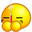 Burn joss stick Icon