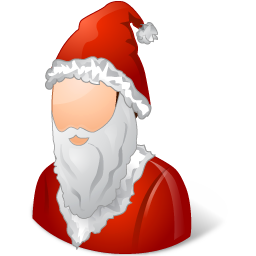 Historical Santa Claus Male Icon