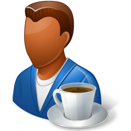 Rest Person Coffee Break Male Dark Vector Icons Free Download In Svg Png Format