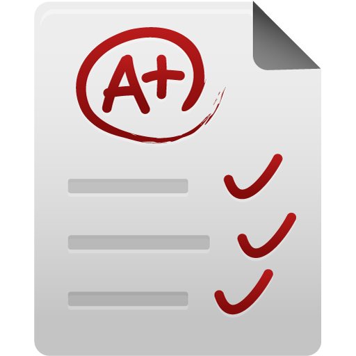 Test paper icon free download as PNG and ICO formats, VeryIcon.com