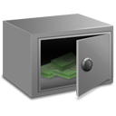 Strong box money Icon