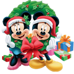 Mickey Mouse Christmas Icon