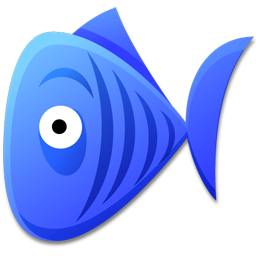 Blue Fish Icon