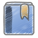 scribble bookmark Icon