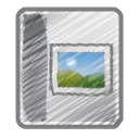 scribble photo album Icon