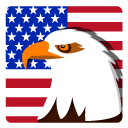 Independence Day Eagle Icon