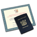 Citizenship Passport Icon