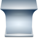 The teacher desk Icon