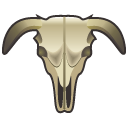 cattle scull Icon