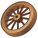 wagon wheel Icon