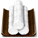 Oshibori wet hand towel Icon