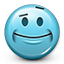 Emoticon Flirty Smile Icon