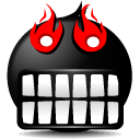 Anger Smile Icon