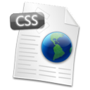 Filetype CSS Icon
