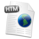 Filetype HTML Icon