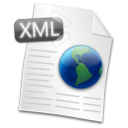 Filetype XML Icon