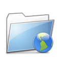 Folder Internet copy Icon
