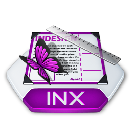 Adobe indesign inx Icon