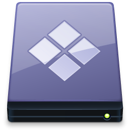 BootCamp Disk Vista Icon