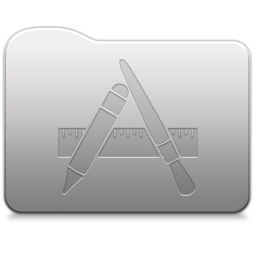 Aluminum folder   Applications Icon