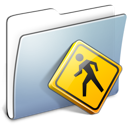 Graphite Smooth Folder Public Icon