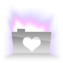 Aurora Heart Icon