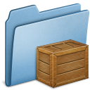 Blue Box Icon